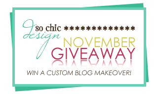 Win a free blog template