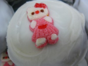 Pink Hello Kitty Cupcake