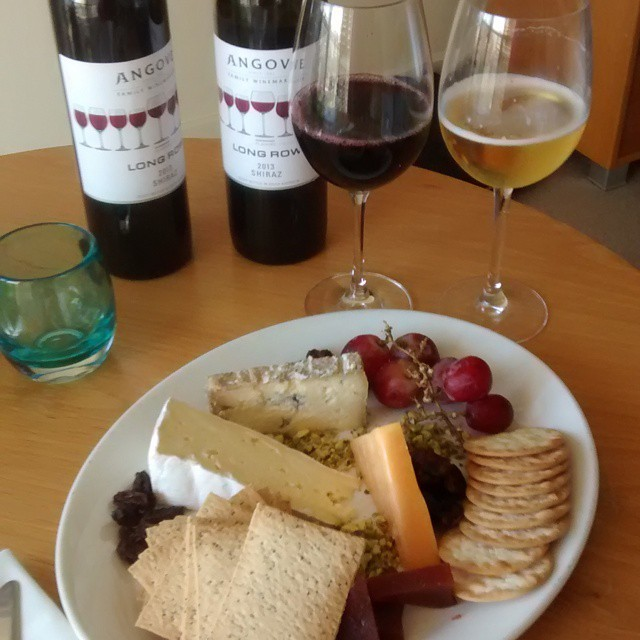 It's that time #wine #cheese