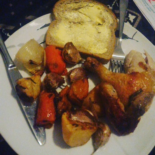 Rainy night roast
