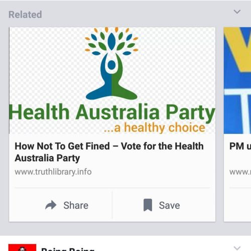 Dont get fined get measles! ausvotes auspol antivax