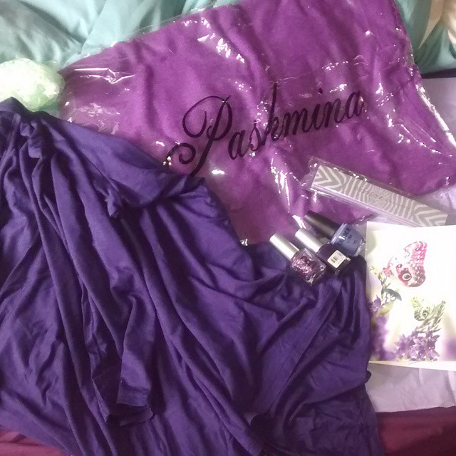 Awesome purple gifts!!!
