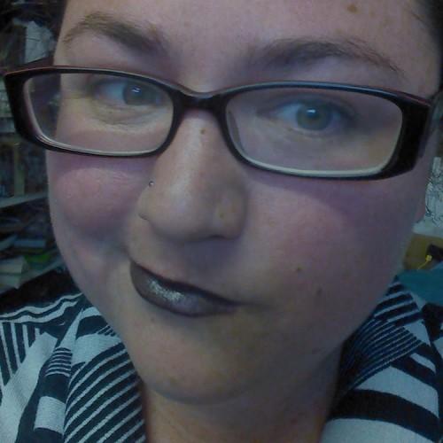 Got any blacker? #liptember Sponsor me for @liptember here: https://www.liptember.com.au/fiona-moore