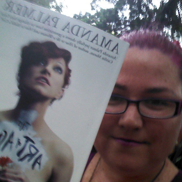 Finally started The Art of Asking by @amandapalmer on the…