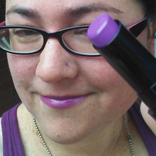 Thanks @clevercomelywench!!! @liptember #liptember #purple
