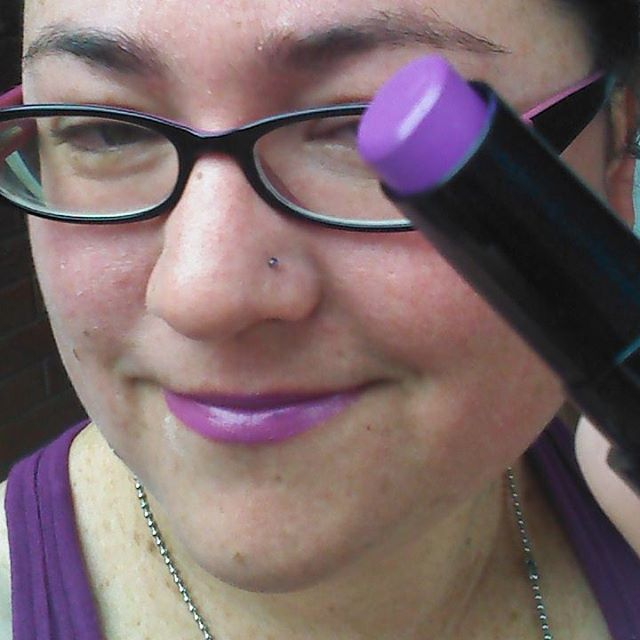 Thanks clevercomelywench!!! liptember liptember purple