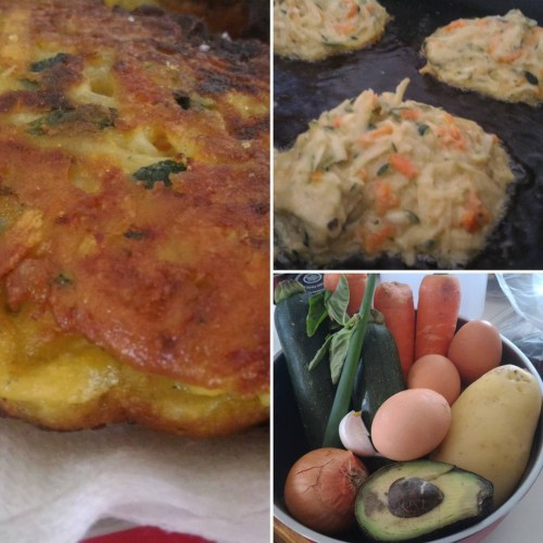 Vege fritters! #meatfreemonday