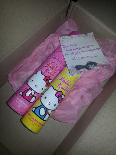 hello kitty body spray