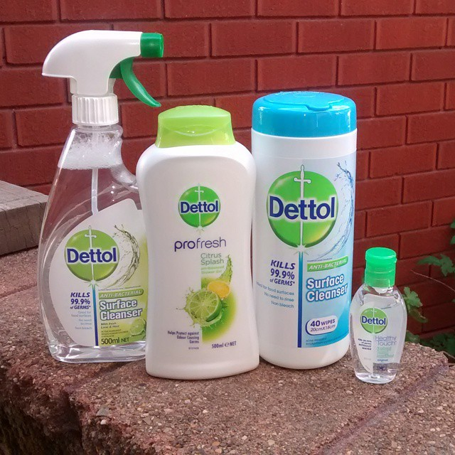 Trying out these Dettol products ahead of a giveaway #gifted
