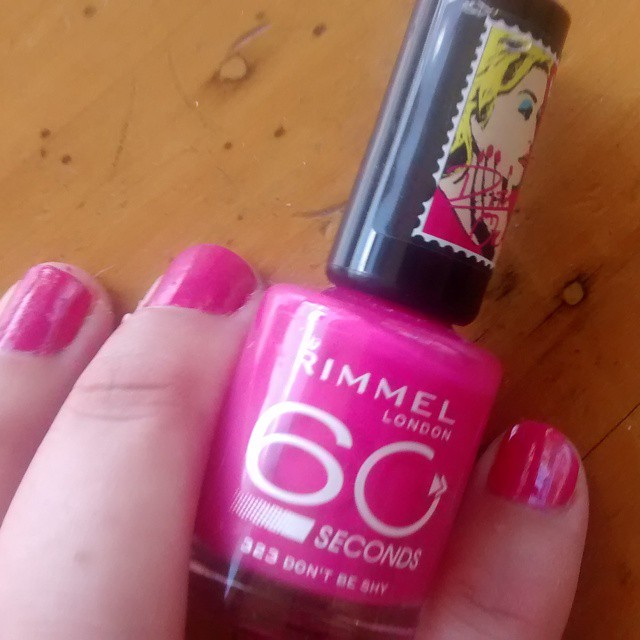 Rimmel 60 seconds - Dont be shy