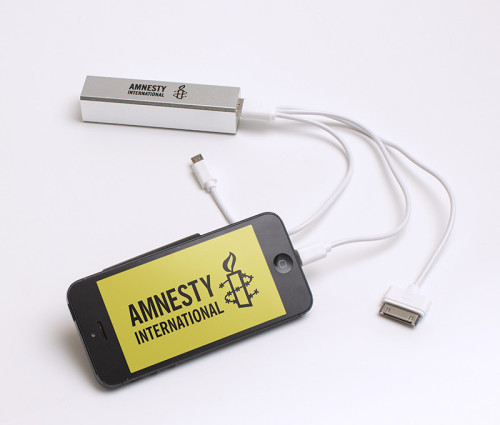 Amnesty Internation Mobile power bank