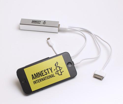 Amnesty Internation Mobile power bank