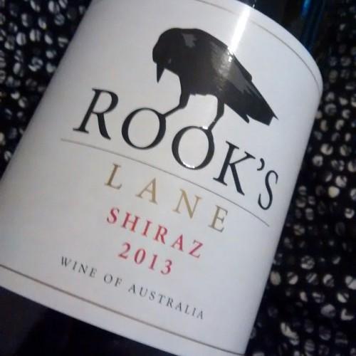 Rooks lane shiraz