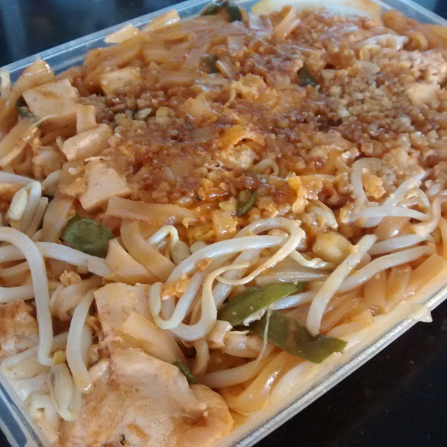 Pad Thai from the restaurant I worked at in Uni @menulog