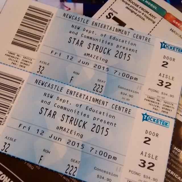 Off to starstruck tonight