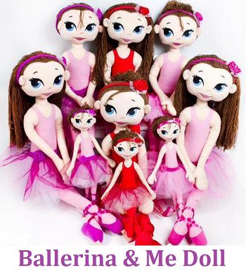 Ballerina & Me Doll