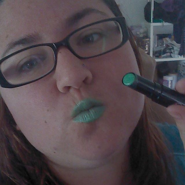 Day 2 of liptember greenie! Sponsor my liptember efforts andhellip
