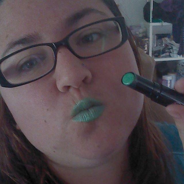 Day 2 of liptember greenie! Sponsor my liptember efforts andhellip