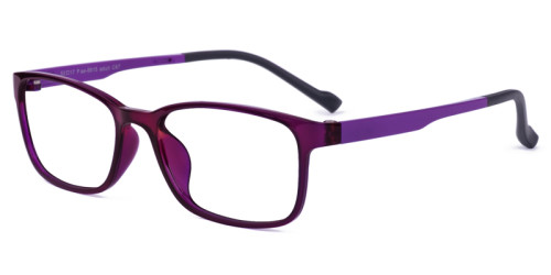 purple glassess