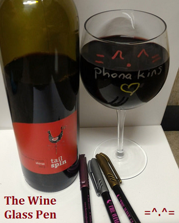 The Wine Glass Pen
