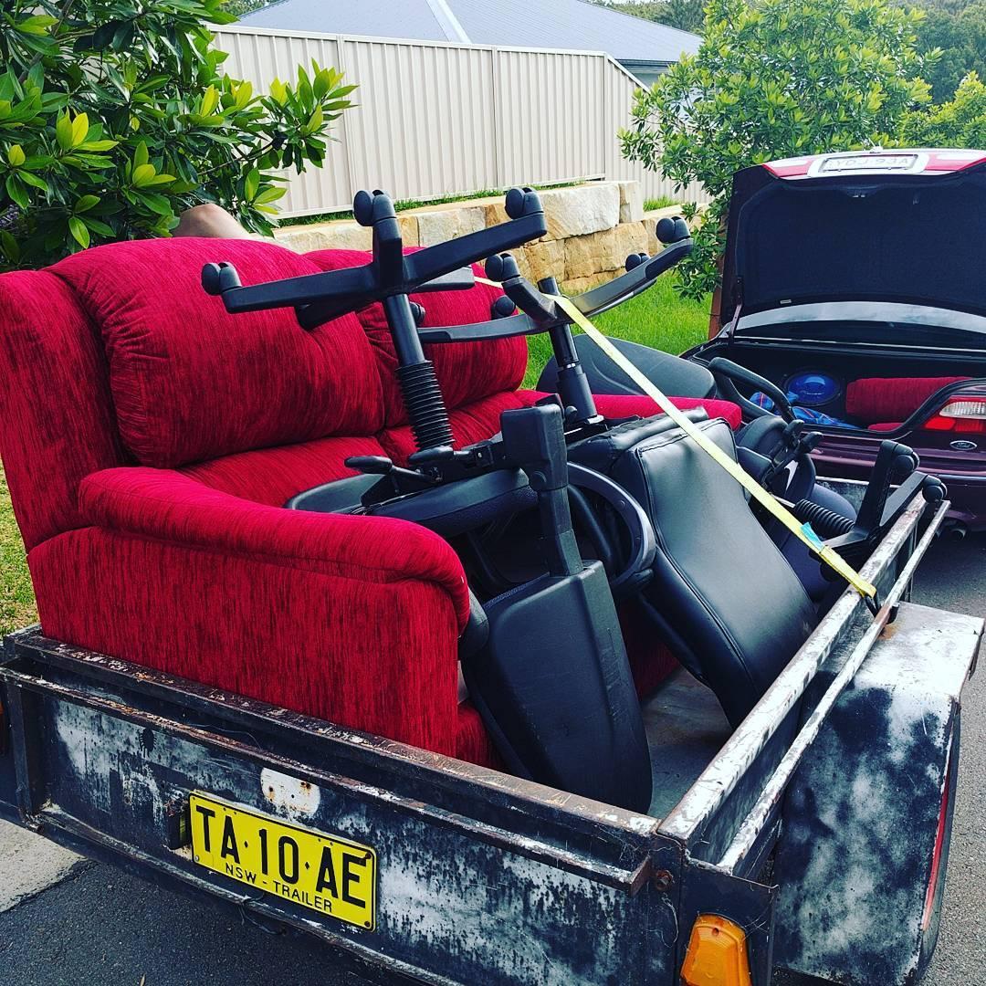 Couch! hardrubbish bulkwaste scavenging