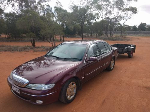 Ford Concorde Red Dirt Australia