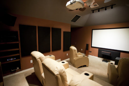 Dedicated home theatre