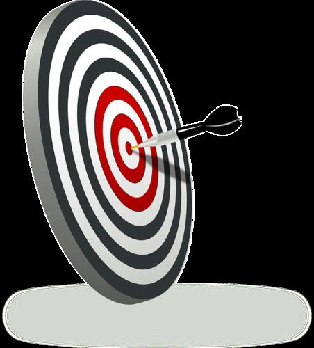 dart board bullseye