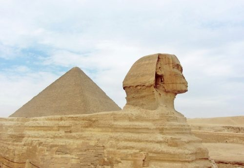 Egyptian Pyramid Pyramids Sphinx Stone Egypt