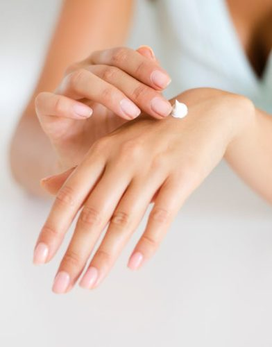 moisturize hands